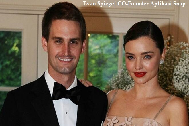Evan Spiegel CO-Founder Aplikasi Snap
