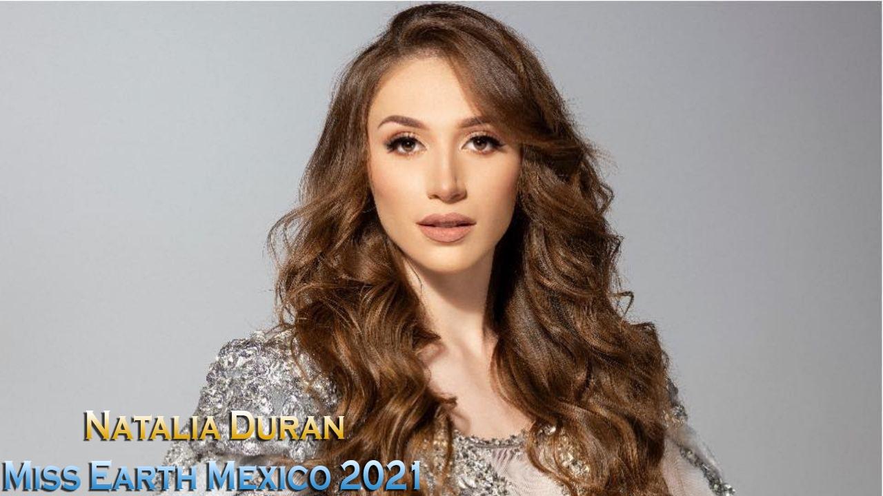Natalia Duran Miss Earth Mexico